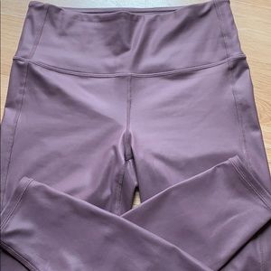 Athleta Shimmer Leggings Sz S